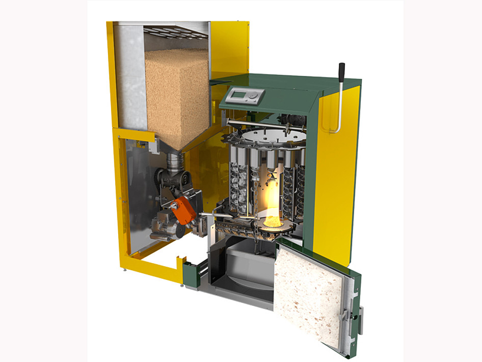 Kwb Easyfire 1 Wood Pellet Heating System Sustaburn