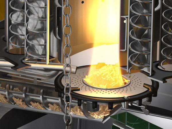 KWB Easyfire 1 wood pellet heating system